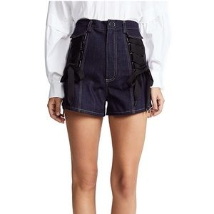 FINAL.NWT Acler Tenby Denim Shorts